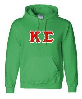 Kappa Sigma Sewn Lettered Sweatshirts