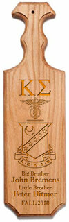 Kappa Sigma Traditional Greek Paddle