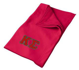 Kappa Sigma Twill Sweatshirt Blanket
