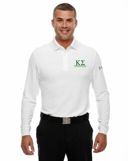 Kappa Sigma Under Armour�  Men's Performance Long Sleeve Fraternity Polo