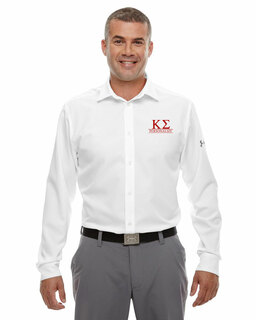 Kappa Sigma Under Armour�  Men's Ultimate Fraternity Long Sleeve Buttondown