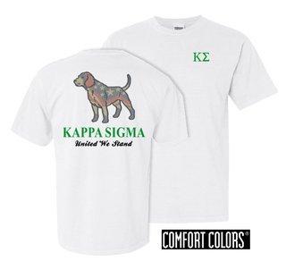 Kappa Sigma United We Stand Comfort Colors T-Shirt