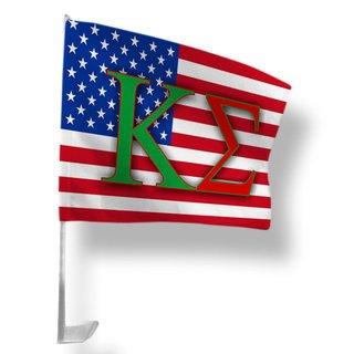 Kappa Sigma USA Car Flag