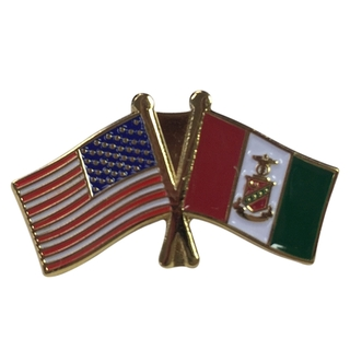 Kappa Sigma USA Flag Lapel Pin