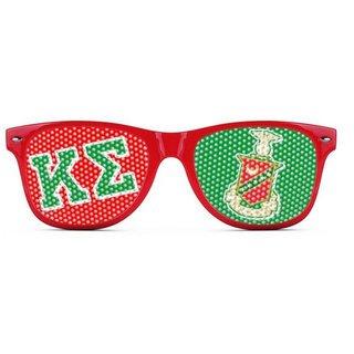 Kappa Sigma Wayfarer Style Lens Sunglasses