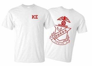 Kappa Sigma World Famous Greek Crest T-Shirts - MADE FAST!