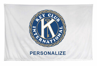 Key Club Custom Flag