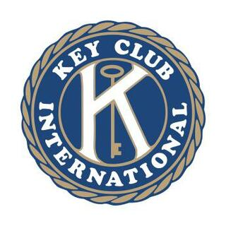 "Key Club Large Color Decal - 12"" Tall"