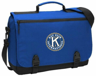 Key Club Messenger Briefcase