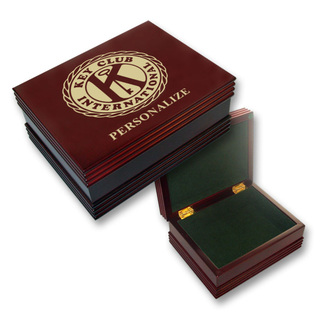 Key Club Wooden Keepsake Box