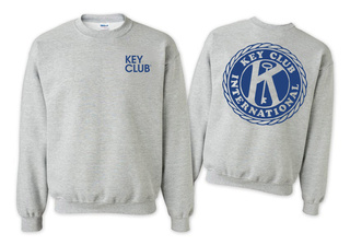 Key Club World Famous Crewneck