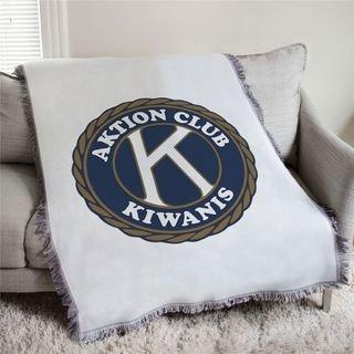 Kiwanis Aktion Club Afghan Blanket Throw