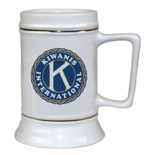 Kiwanis Ceramic Stein