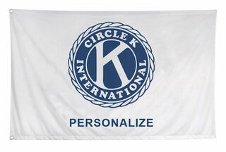 Kiwanis Custom Flag