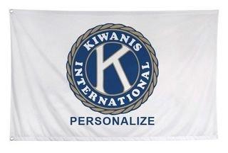 Kiwanis Custom Flag