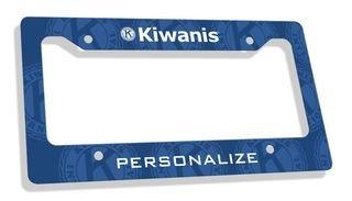 Kiwanis License Plate Frame
