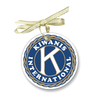 Kiwanis Holiday Glass Ornaments