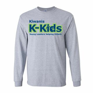 Kiwanis K-Kids Long Sleeve T-Shirt- $19.95!