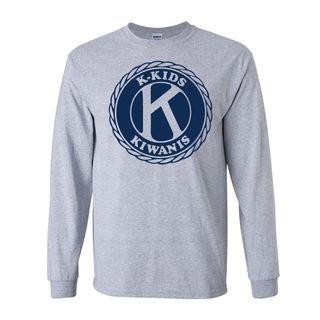 Kiwanis K-Kids Seal Long Sleeve T-Shirt- $19.95!