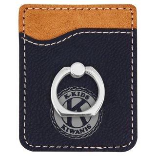 Kiwanis K-Kids Seal Phone Wallet with Ring