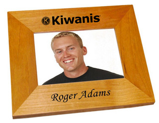 Kiwanis Wood Picture Frame