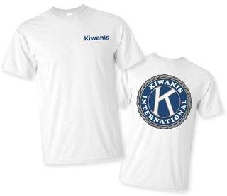 Kiwanis World Famous Tee- $14.99!