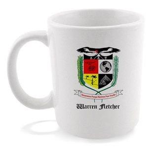 Lambda Alpha Upsilon Crest - Shield Coffee Mug