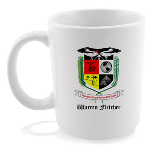 Lambda Alpha Upsilon Crest - Shield Coffee Mug