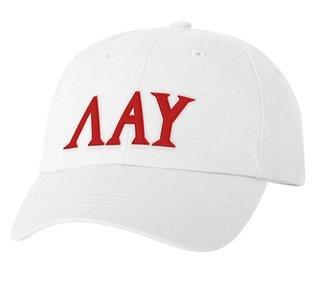 Lambda Alpha Upsilon Letter Hat