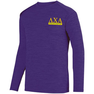Lambda Chi Alpha- $20 World Famous Dry Fit Tonal Long Sleeve Tee