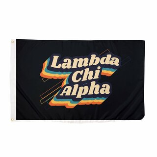 Lambda Chi Alpha 70's Flag