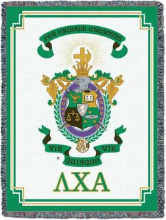 Lambda Chi Alpha Afghan Blanket Throw