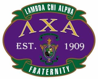 Lambda Chi Alpha Banner Crest - Shield Decal