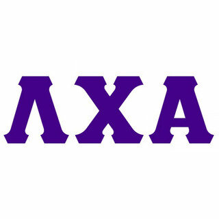 Lambda Chi Alpha Big Greek Letter Window Sticker Decal