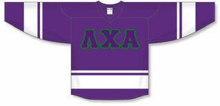 DISCOUNT-Lambda Chi Alpha Breakaway Lettered Hockey Jersey