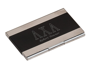 Lambda Chi Alpha Business Card Holder
