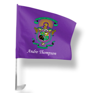 Lambda Chi Alpha Car Flag