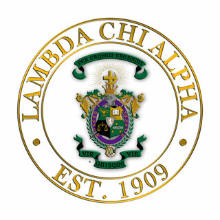Lambda Chi Alpha Circle Crest - Shield Decal