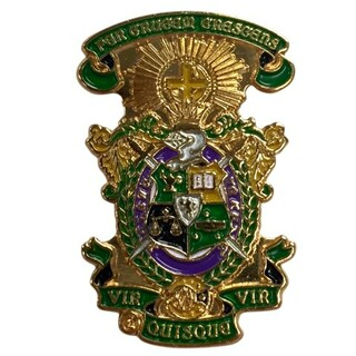 Lambda Chi Alpha Color Crest - Shield Pins