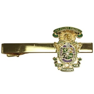 Lambda Chi Alpha Color Crest - Shield Tie Clips