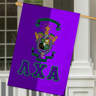 Lambda Chi Alpha Crest House Flag