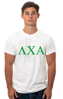 Lambda Chi Alpha Crest - Shield Tee