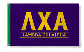 Lambda Chi Alpha Custom Line Flag