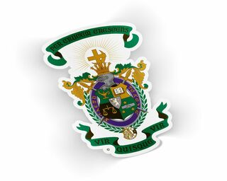 Lambda Chi Alpha Die Cut Crest Sticker