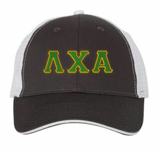 Lambda Chi Alpha Double Greek Trucker Cap