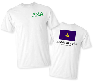 Lambda Chi Alpha Flag T-Shirt