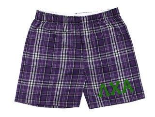 Lambda Chi Alpha Flannel Boxer Shorts