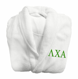 Lambda Chi Alpha Fraternity Lettered Bathrobe