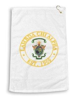Lambda Chi Alpha Giant Crest Golf Towel