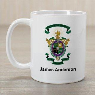 Lambda Chi Alpha Greek Crest Coffee Mug - Personalized!